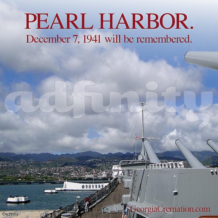 121402 Pearl Harbor December 7 1941 will be remembered Pearl Harbor Day Facebook meme.jpg