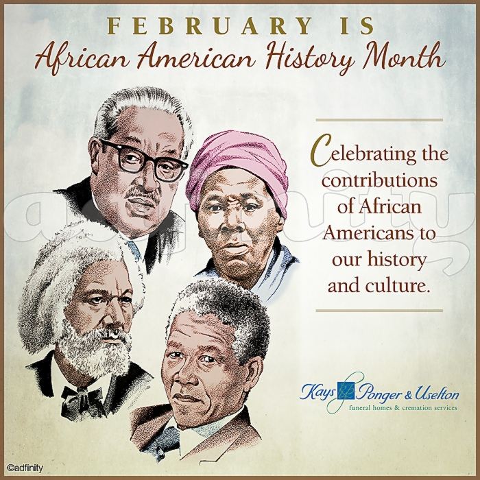011503 Celebrating the contributions of African Americans to our history and culture. Black History Month Facebook meme.jpg