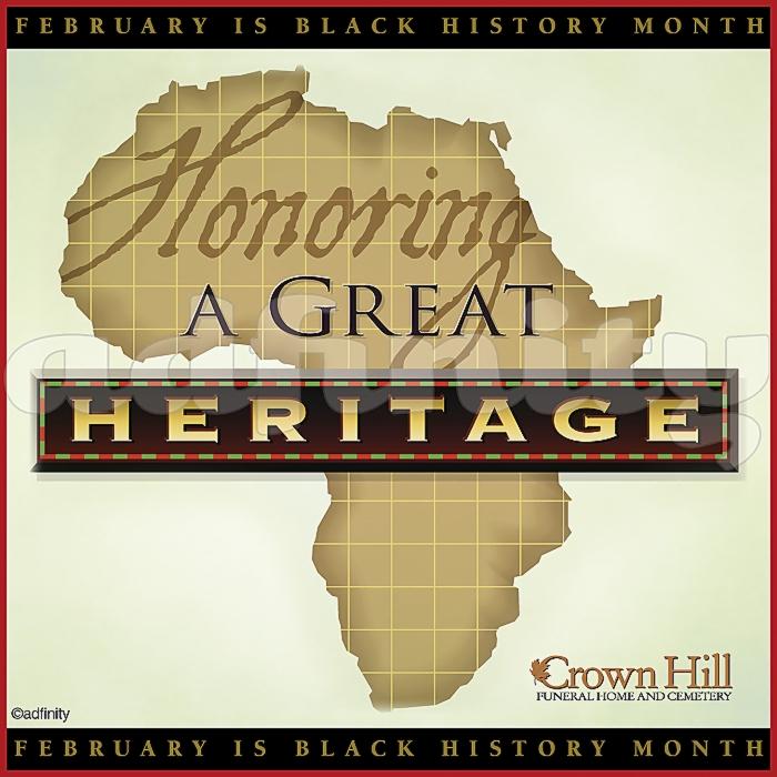011504 Honoring a great heritage. Black History Month Facebook meme.jpg