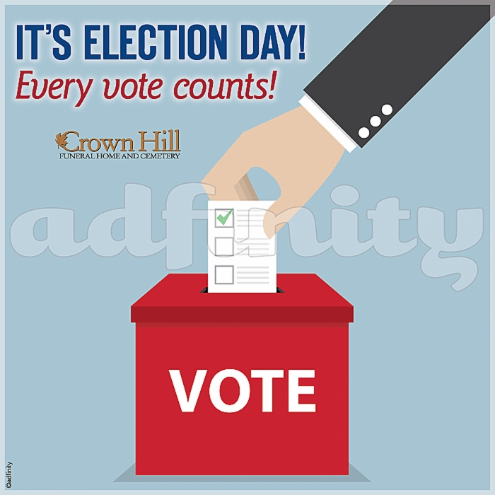 091519Its Election Day! Every vote counts! Election Day Facebook meme.jpg