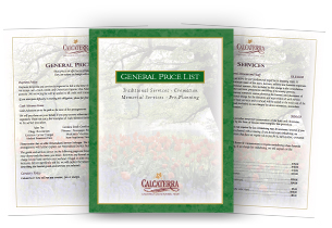 General Price Lists
