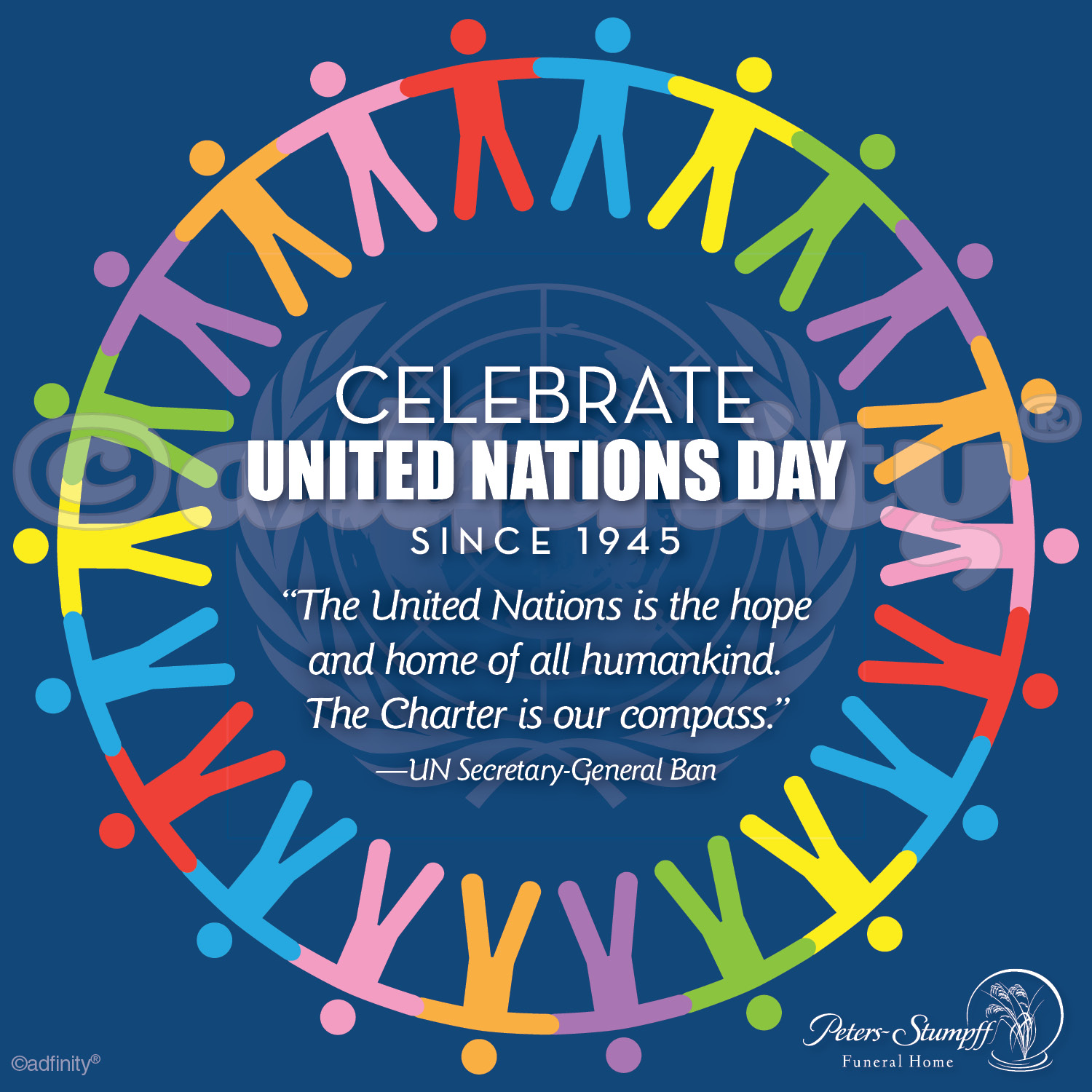 Celebrate United Nations Day (Facebook) - adfinity