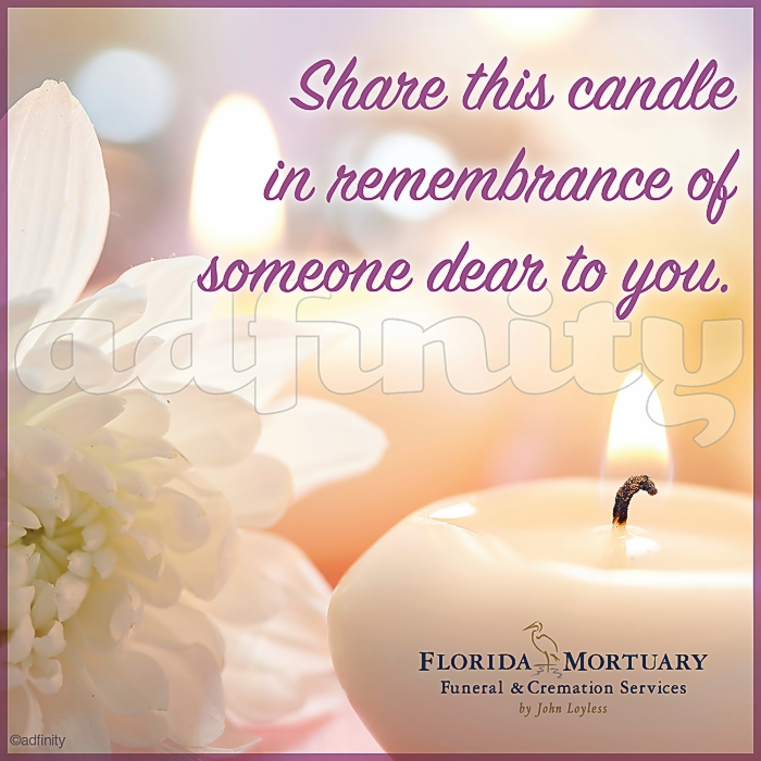011601B Share this candle in remembrance of someone dear to you. Viral Share Facebook ad.jpg